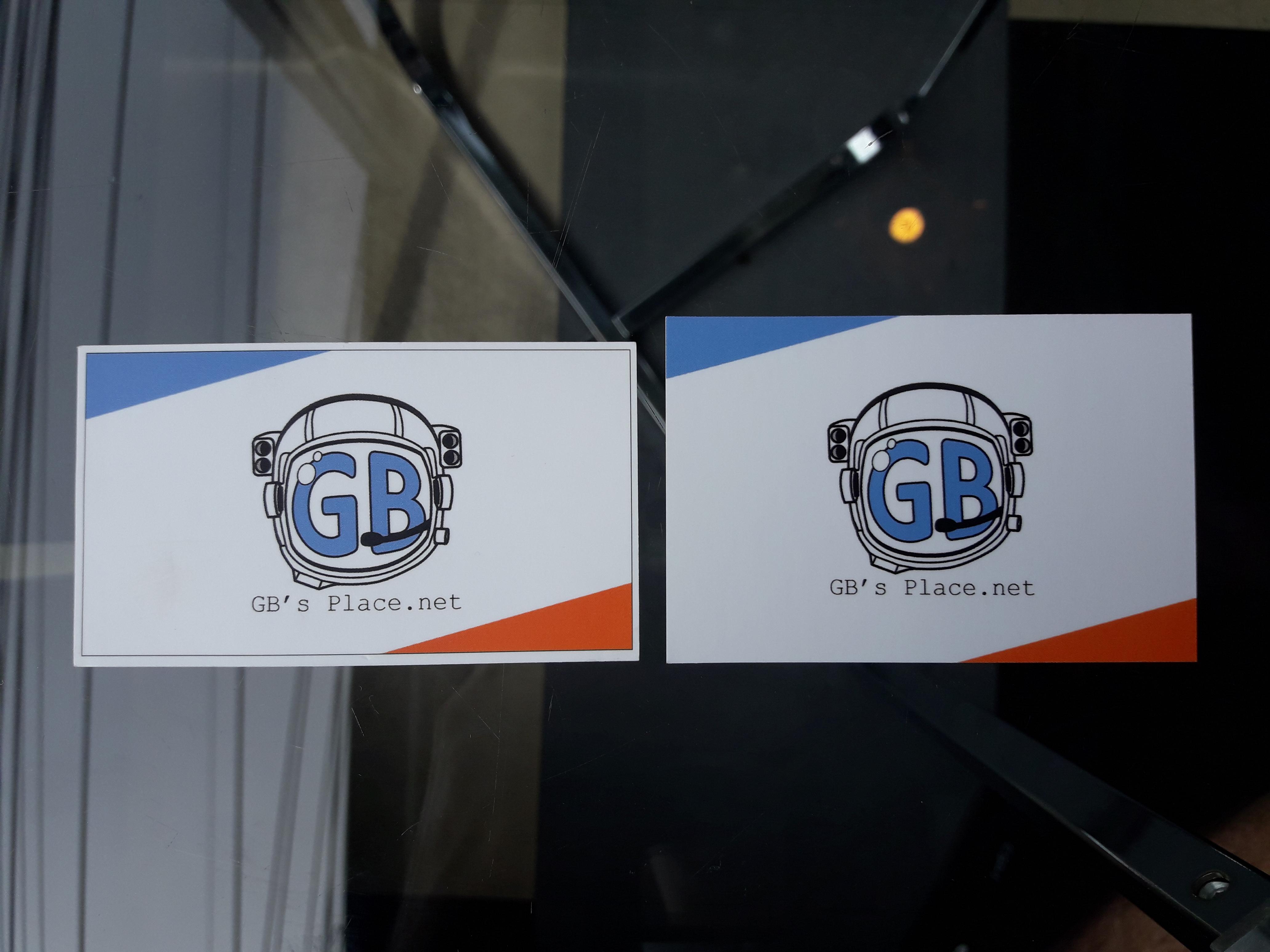 Business Card Comparison Gb S Place Net