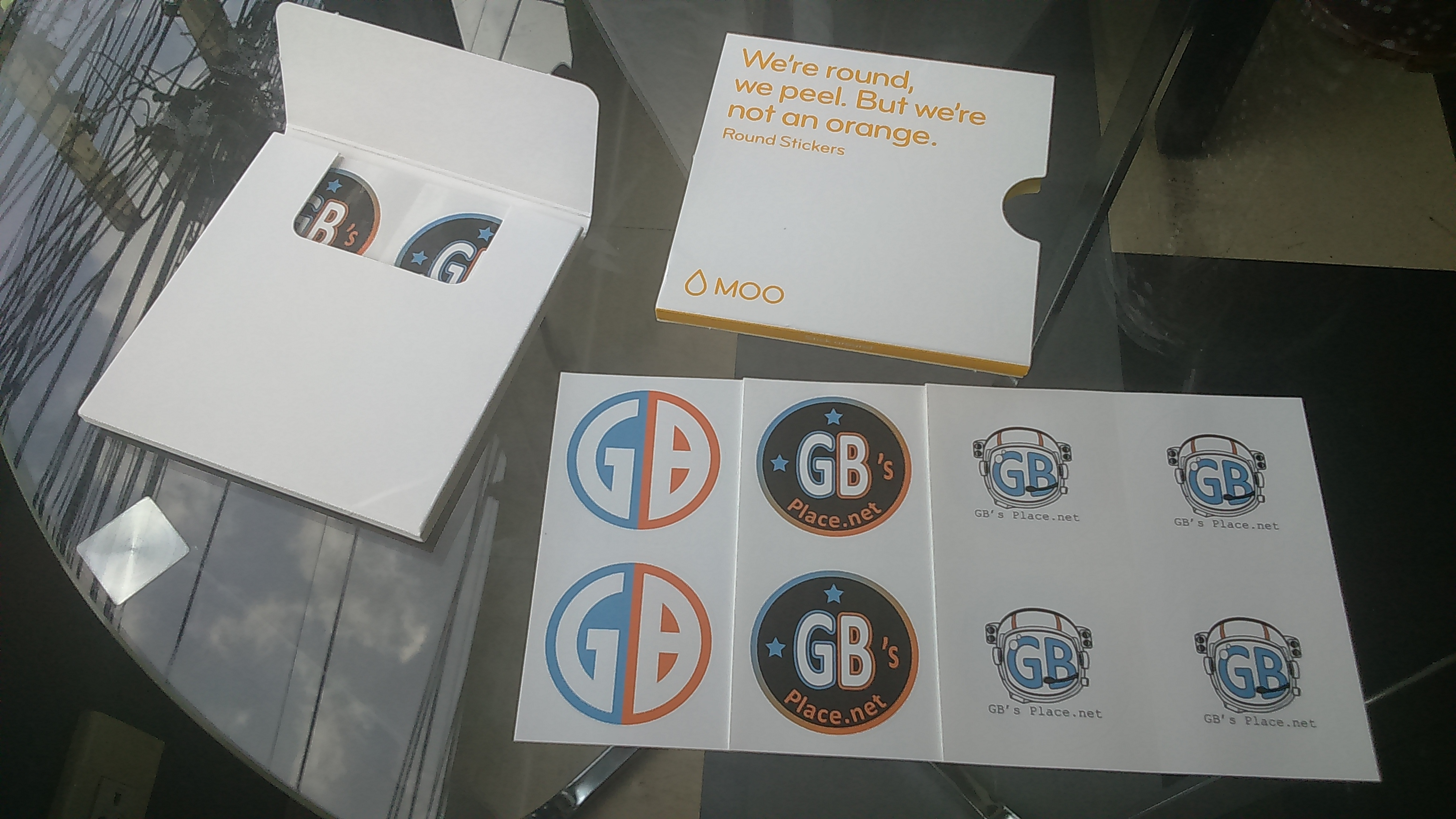 Short Review MOO Round Stickers – GB s Place